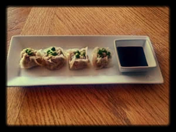 Chicken Shu Mai Dim Sum Chinese Appetizer Recipe