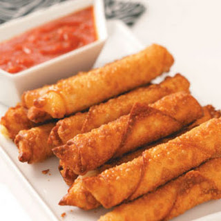 Wonton Mozzarella Sticks.