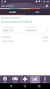 Wala Financial Management Tool screenshot