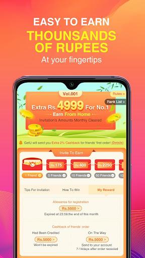 GetU - Online shopping mall 2.7 screenshots 4