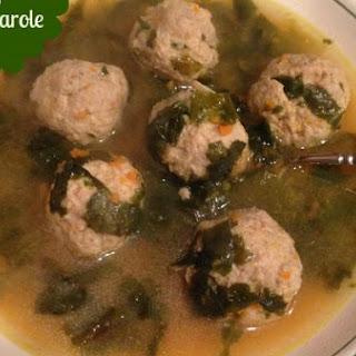 Italian Wedding Soup with Escarole.