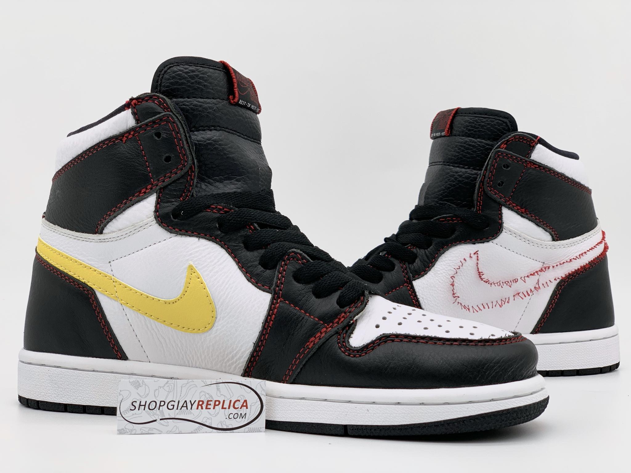 hình ảnh Các mẫu giày Jordan trắng đen hot nhất 2021 - số 4