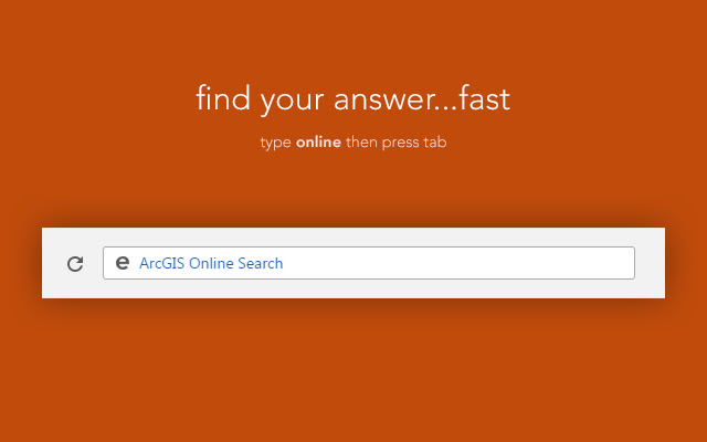 ArcGIS Online Search