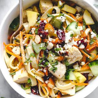 Chicken Pasta Salad Bowl.