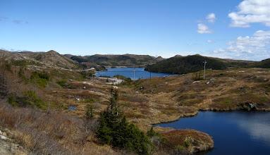 Photo: Değişik seviyede göller yan yana.