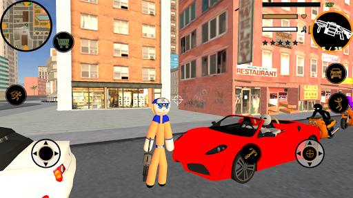 Télécharger Gratuit Naru Stickman Rope Hero Ninja Gangstar Crime Fight APK MOD (Astuce) screenshots 1