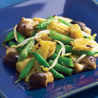 Asian Green Bean Stir-Fry.