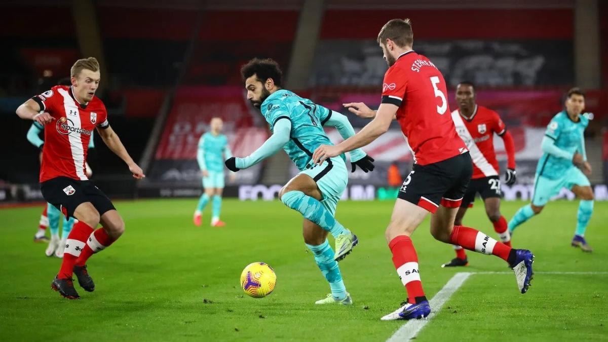 Liverpool từng bị Southampton đánh bại ở trận lượt đi