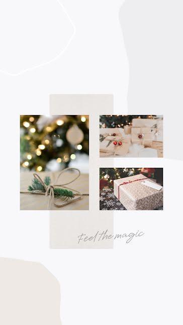 Feel the Magic - Christmas Template