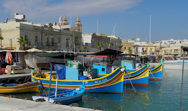 Photo: Marsaxlokk harbor, Malta