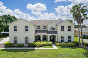 Orlando villa close to Disney, gated community, lake view, large pool deck, cinema room