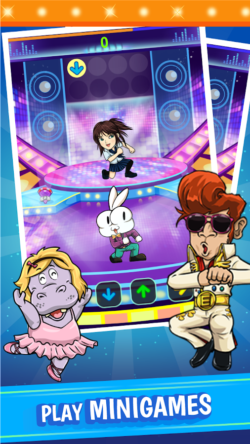 Bunbu Dance Tour: Idol Clicker- screenshot