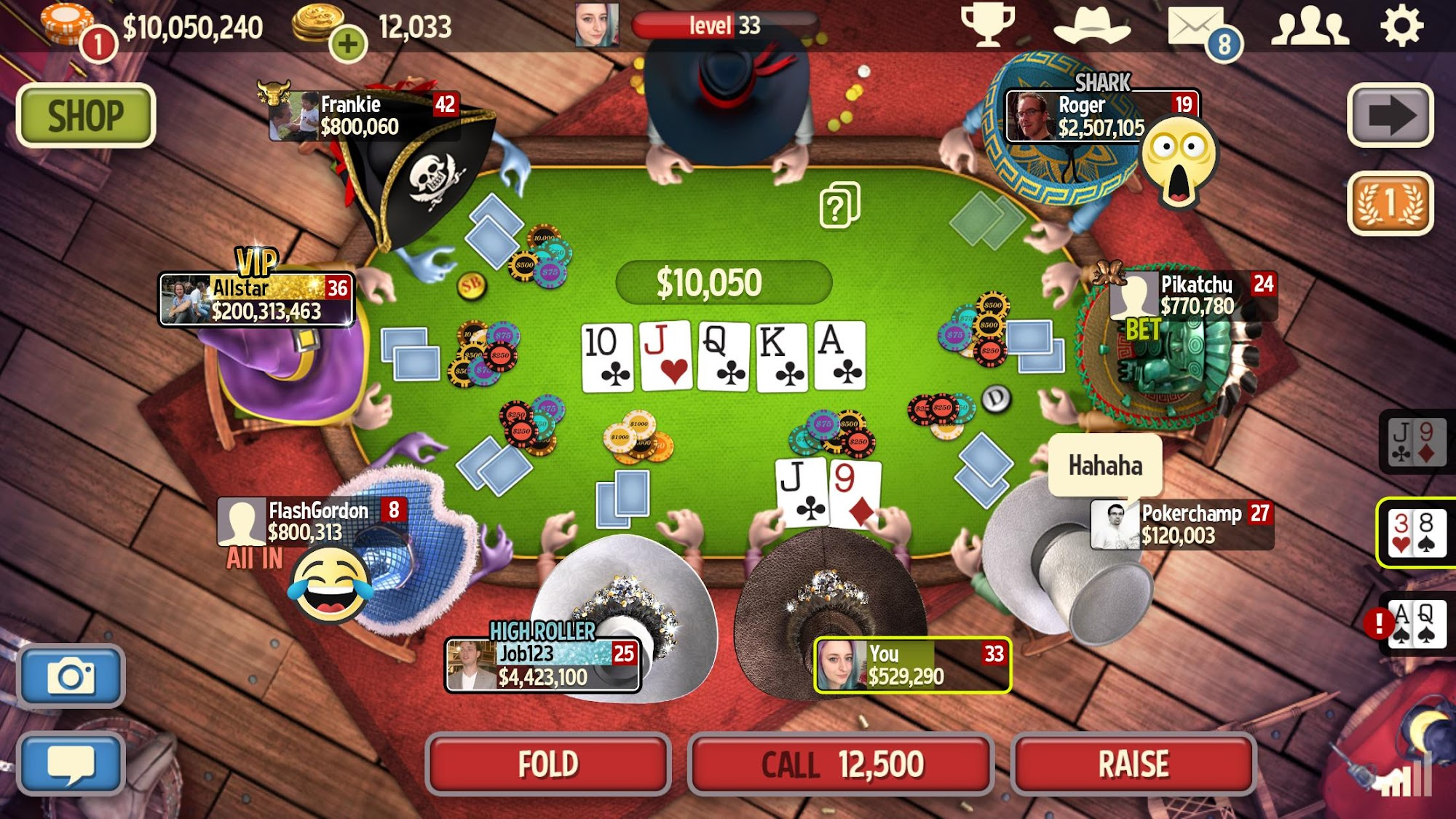Governor of Poker 3 - HOLDEM screenshot #6