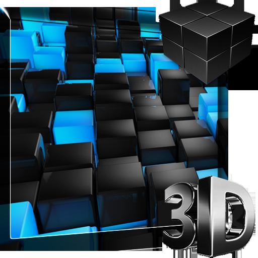 3D Cubes Live Wallpaper