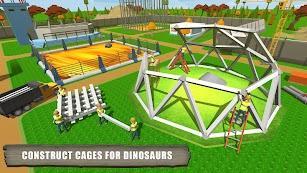 Jurassic Dinosaur Park Craft: Dino World screenshot for Android