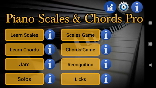 Piano Scales & Chords Pro (Paid) 1
