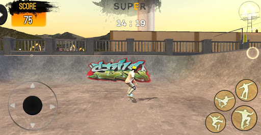 Freestyle Extreme Skater: Flippy Skate screenshots 1
