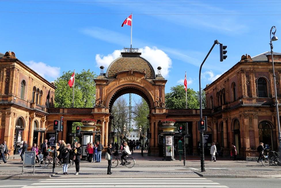 Kopenhaga, Ogrody Tivoli