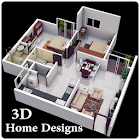 3D Home Designs icon