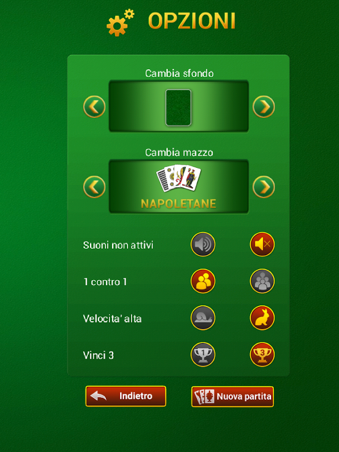 Briscola Italiana Gratis- screenshot