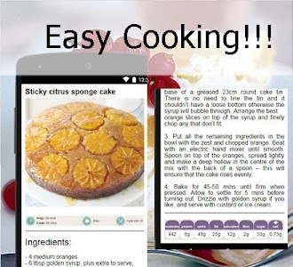 Cake recipes screenshot 3