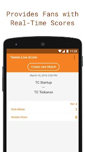 Tickaroo Tennis LIVE Scoring- screenshot thumbnail