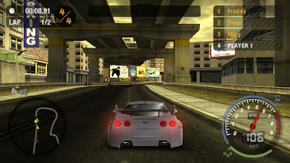Need for speed - most wanted cool rom