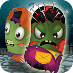 Halloween Monster Jump Icon