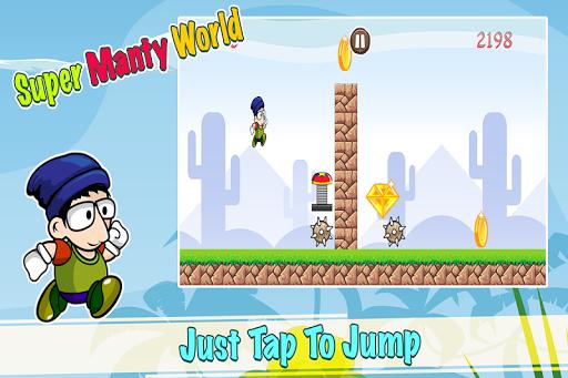 Super Manty World Run