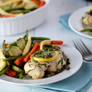 Lemon Chicken With Capers.