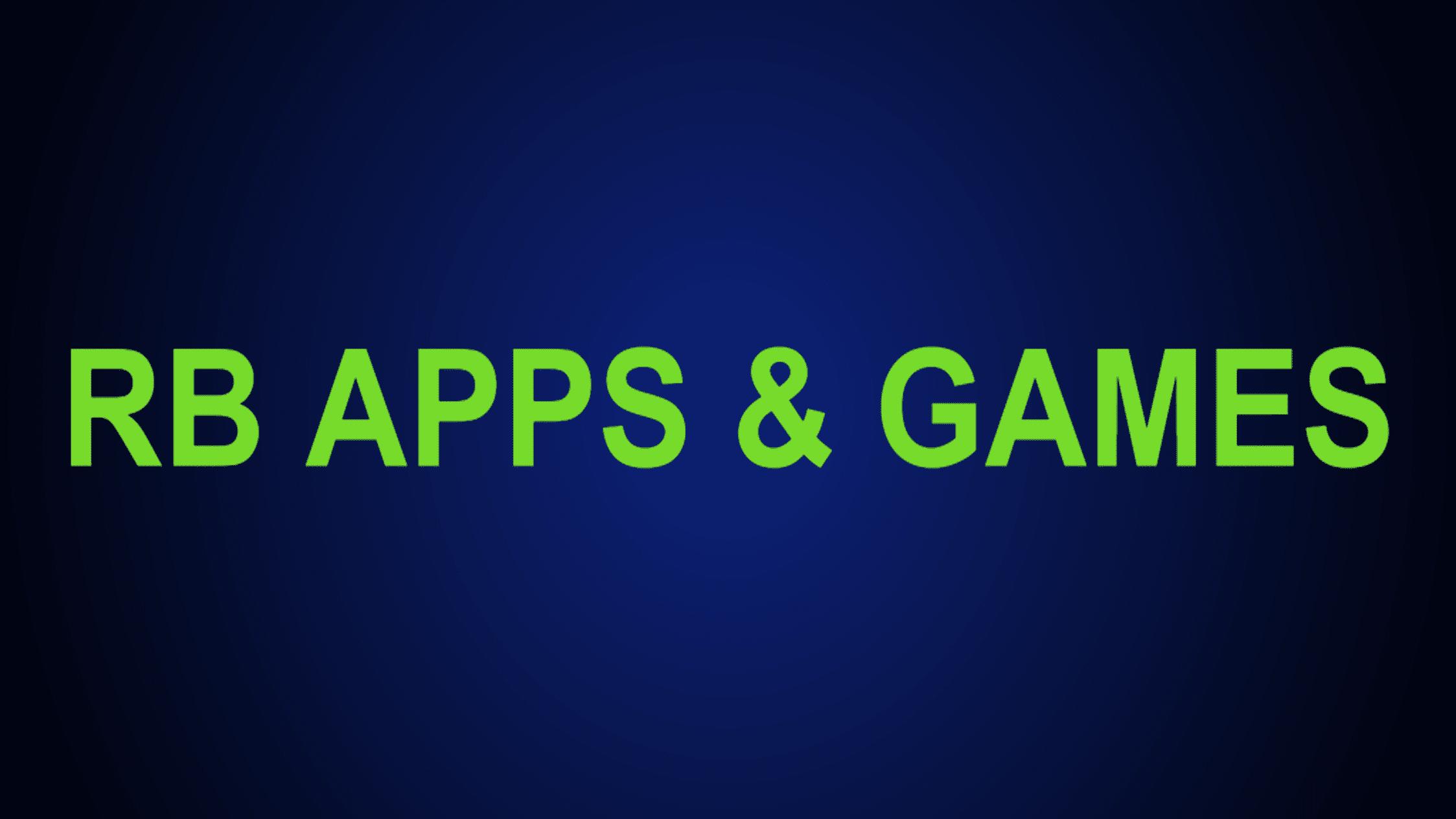 RB Apps & Games