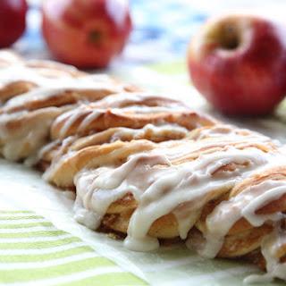 Cinnamon-Apple Twist Bread.