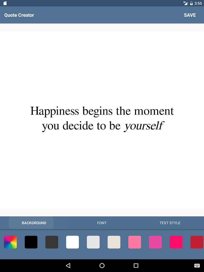Instagram Quote Maker Delectable Quote Creator  Android Apps On Google Play
