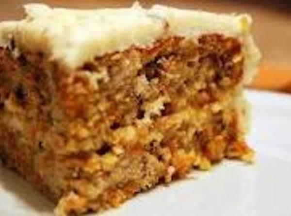 Grandma Goldies Carrot Cake Recipe