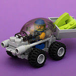 LEGO lime transport rover by pascal public domain on flickr