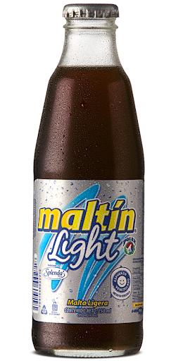 malta maltin polar light botella 250ml