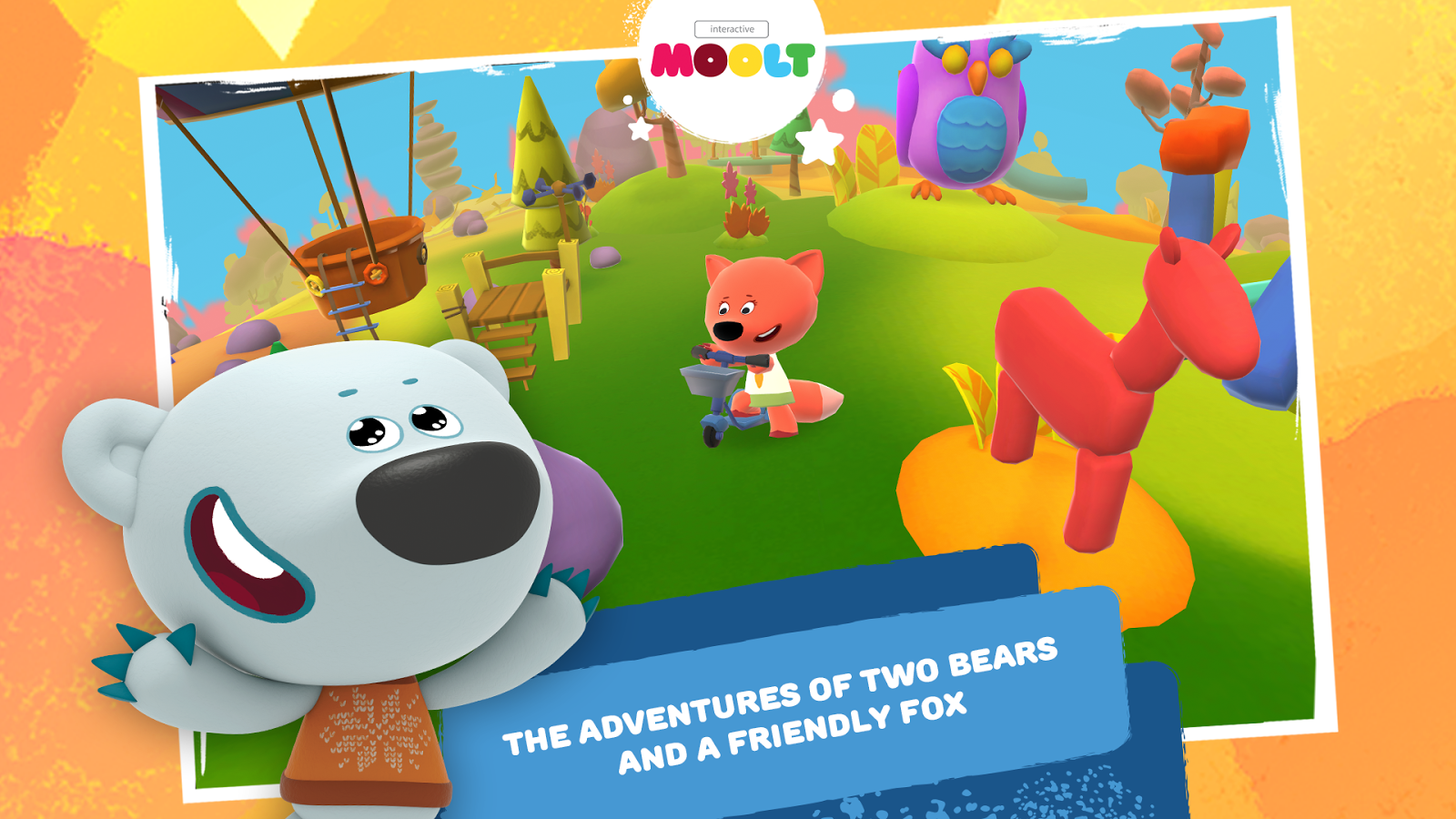Be-be-bears Free- screenshot