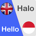 Indonesian English Translator Free - Voice & Text icon
