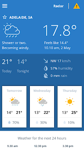 BOM Weather screenshot 0