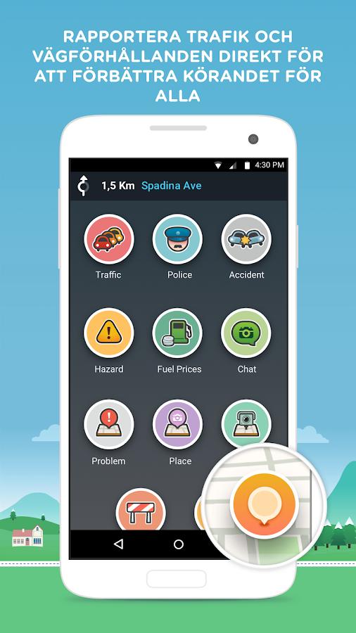waze gps kartor och trafik android appar p google play. Black Bedroom Furniture Sets. Home Design Ideas