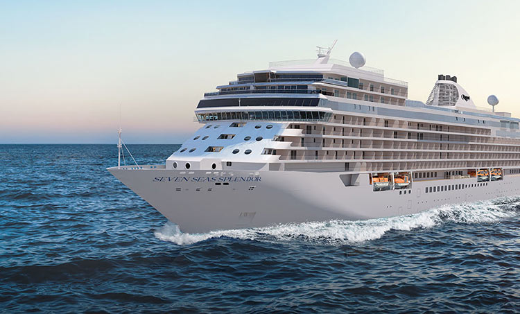 Seven Seas Splendor debuts in February as the world's most luxurious cruise ship. It's now open for bookings.