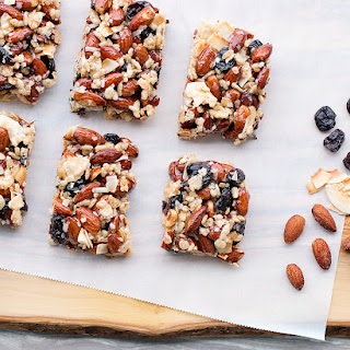 Coconut, Cherry and Almond Protein Bars