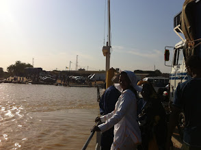 Photo: Ferry for Senegal side
