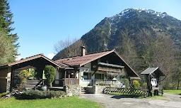 Hindelang Tour Schleierfall Vaterlandsweg Horn-Cafe Hornwiesen