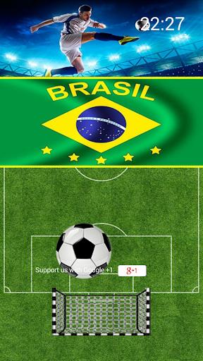 Futebol Brasil Lockscreen