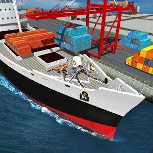 Cargo Ship Craft Cruise Simulator: Water Taxi