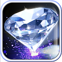 Luxury Diamonds Live Wallpaper icon
