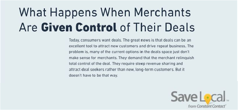 Photo: What Happens When Merchants are Given Control of Their Deals?