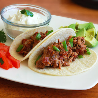 Tinga Poblana Pulled Pork Tacos Recipe