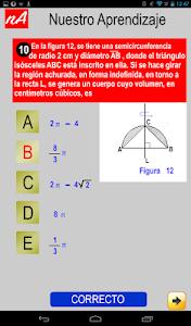 PSU Matemática Prueba Ensayo screenshot 10